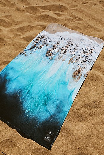 Painted Sand Beach Towel