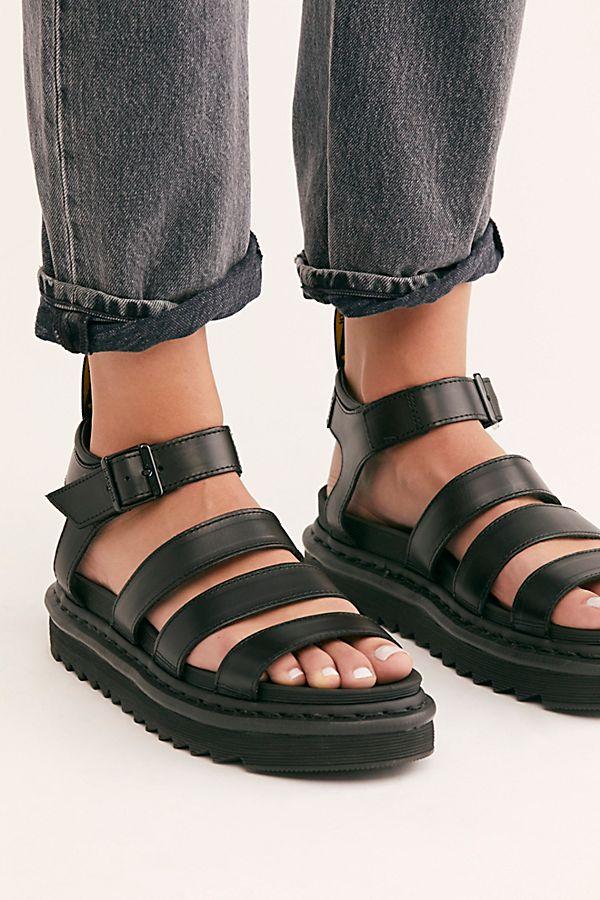 Dr Martens Blaire Brando Flatform Sandal Free People