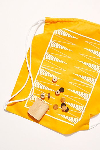 Backpack Backgammon & Checkers Set