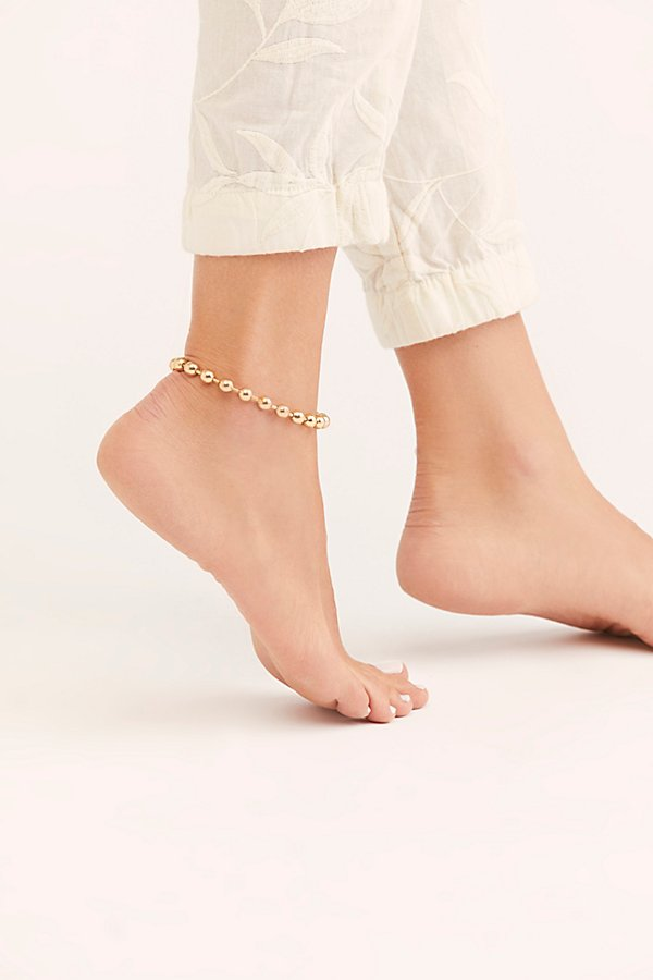 Slide View 3: XL Chloe Anklet