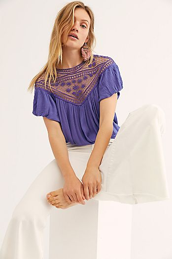 03906c41903a13 Lace Tops, Off the Shoulder Tops & More | Free People