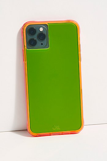 Tough Neon iPhone Case