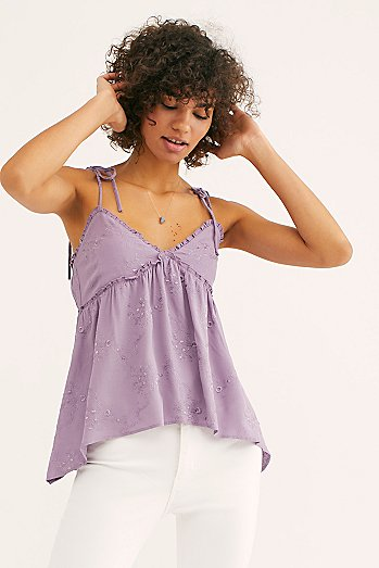 Bella Embroidered Cami