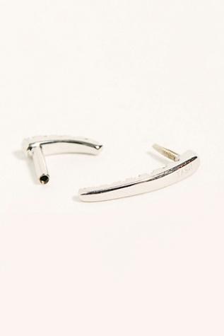 Short Talon Diamond Threader Single Earring by Maria Tash