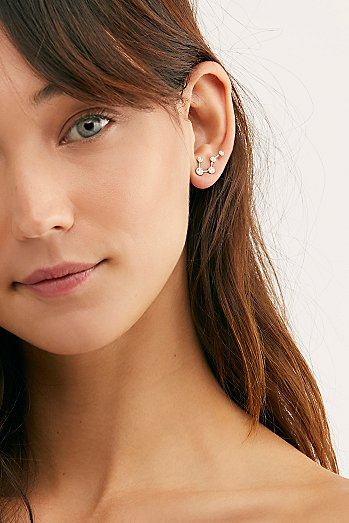 Big Dipper Constellation Single Earring