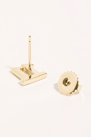 11:11 Pave Stud Single Earring