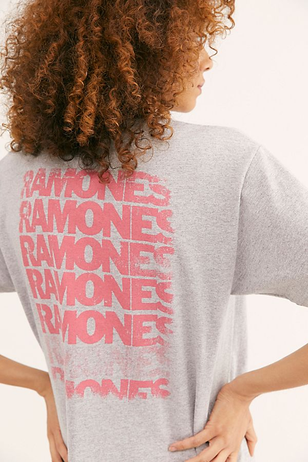 Slide View 3: Ramones Let's Go Oversized Tee