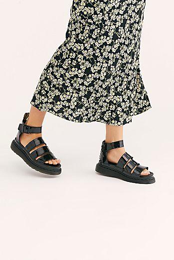 857258cfb22e Dr. Martens Clarissa II Flatform Sandal