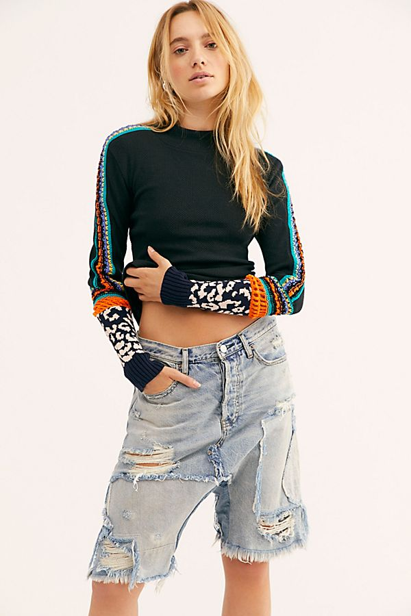 Switch It Up Cuff Top by Free People