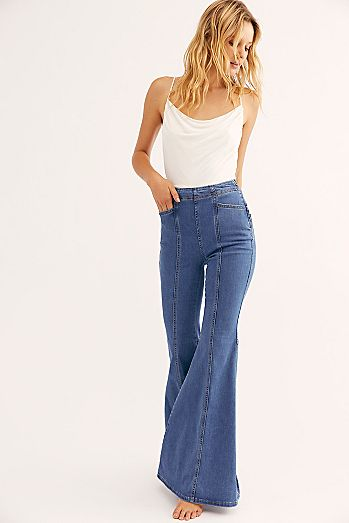 7d838d1e82579 Womens Flare Jeans & Bell Bottom Jeans | Free People