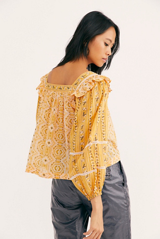 Mostly Meadow Blouse by Free People