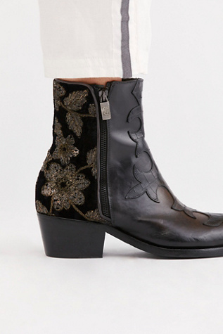 Gold Rush Western Boot by J Ghost