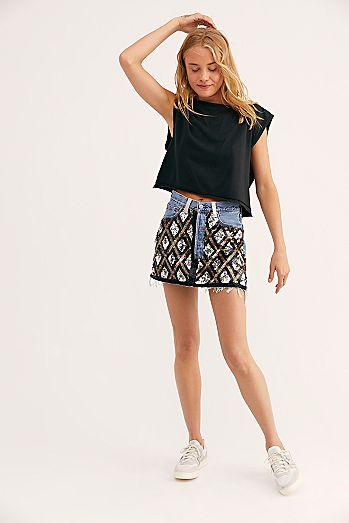 f2eb8ec8a One-Of-A-Kind Private Dancer Mini Skirt