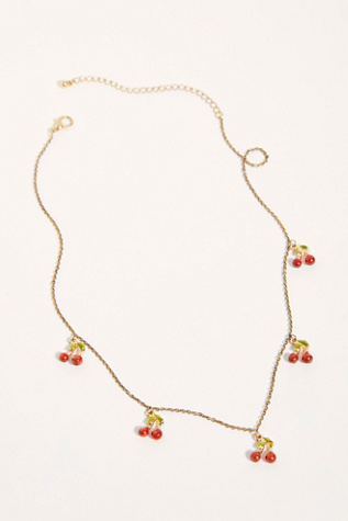 Zesty Charm Necklace by Free People