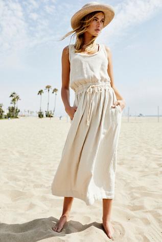 Those Sunshine Feels Midi Dress by Endless Summer