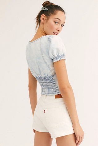 We The Free Clover Canyon Denim Top by We The Free