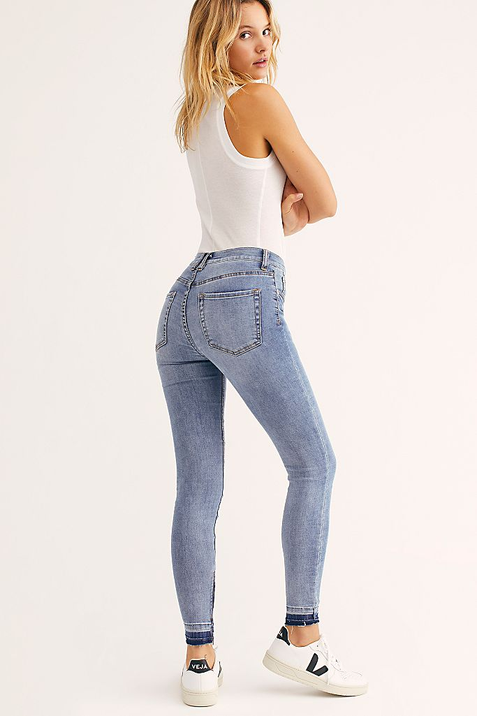 Goldie High Rise Skinny Jeans Free People Uk