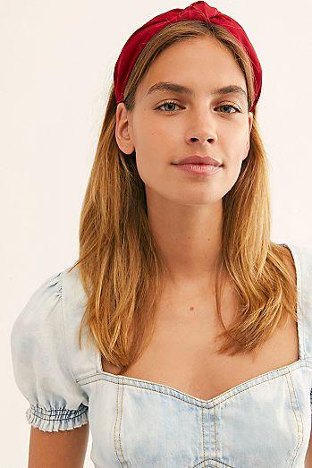 cb6bea307dc2d Women's Headbands & Scrunchies | Turban, Soft & More | Free People