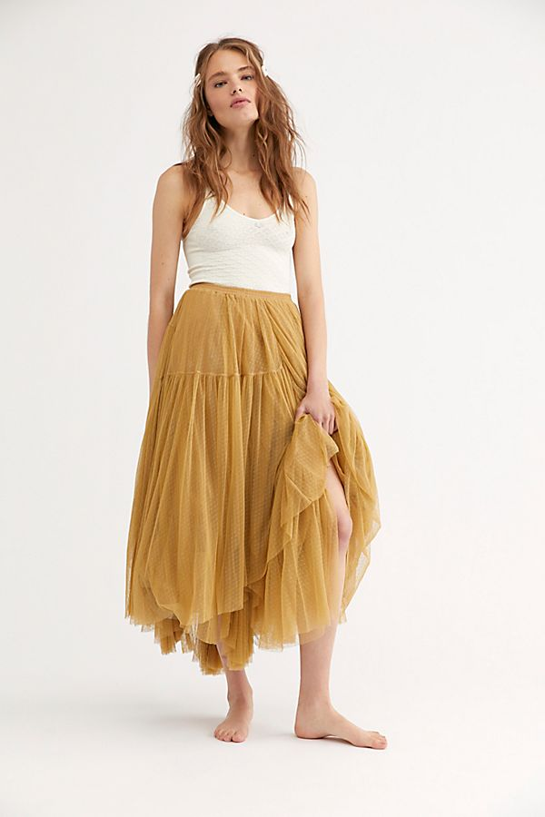 f9529aa2c8 Grace Tulle Maxi Skirt | Free People