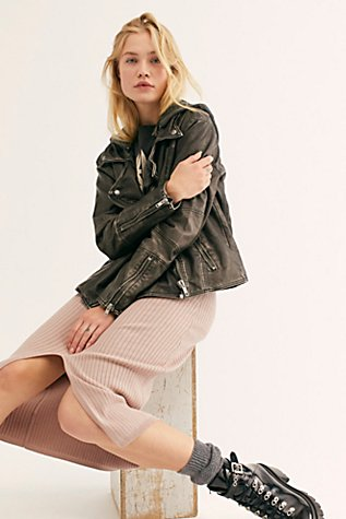 Just Friends Vegan Moto Jacket by We The Free