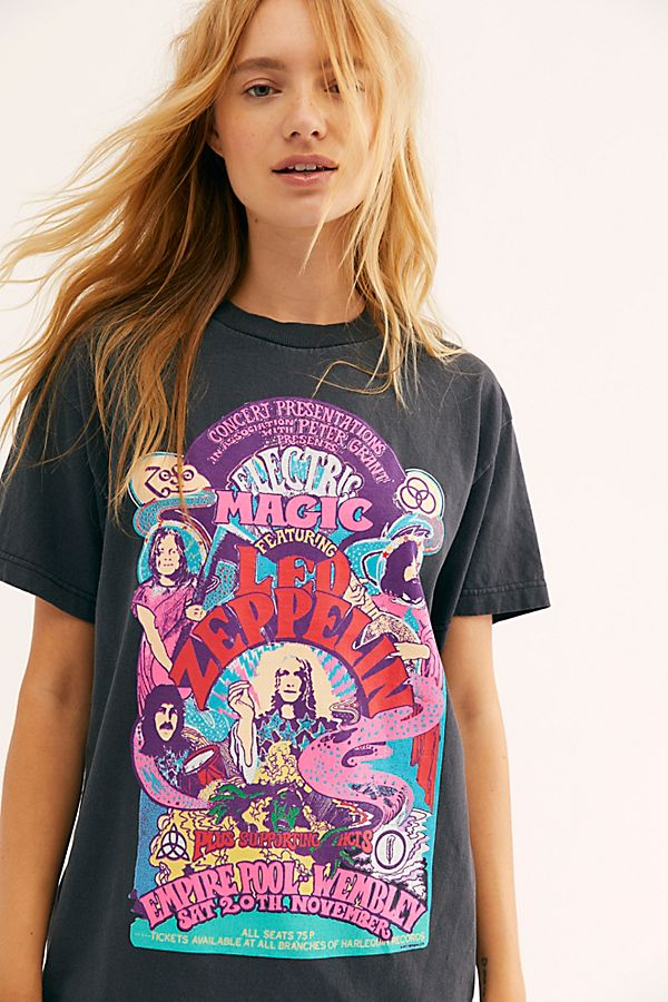 Slide View 1: Electric Magic Oversized Tee