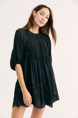 Unrefined Eyelet Tunic by Free People