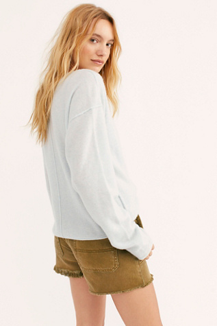 Always Cashmere V Neck Sweater by Free People
