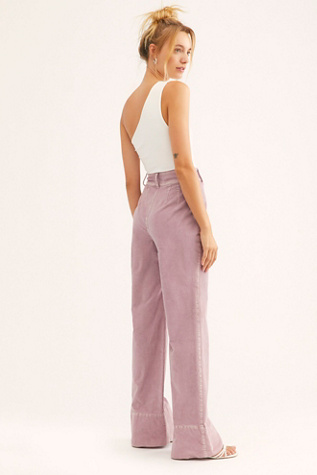 Hattie Cord Flare Pants by We The Free