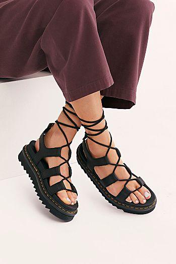 91e8cd79cb9cd Dr. Martens Nartilla Grizzly Flatform Sandal