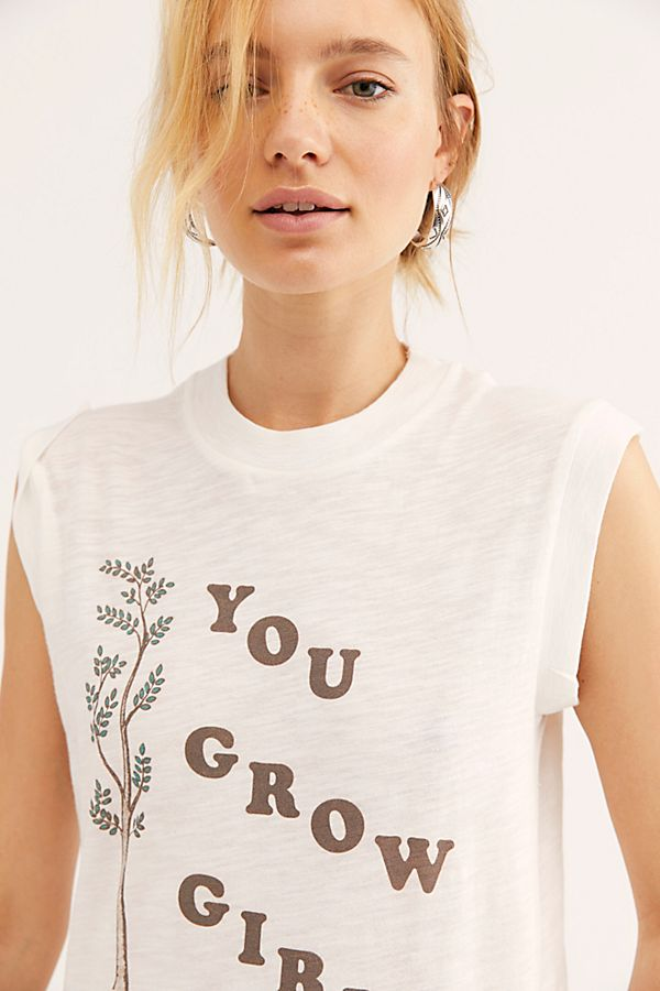 You Grow Girl Moto Tee by Girl Dangerous