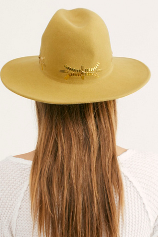 Evoke Art Dallas Felt Hat by Lovely Bird