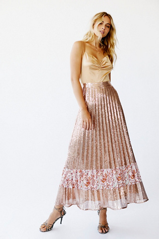 Let's Dance Sequin Set by Free People