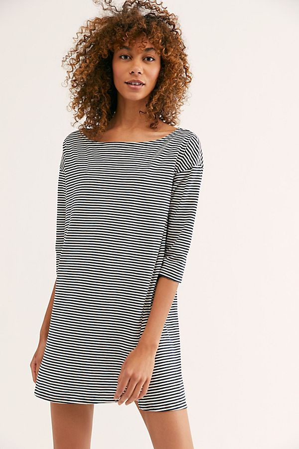 Every Day Stripe Tunic by Fp Beach
