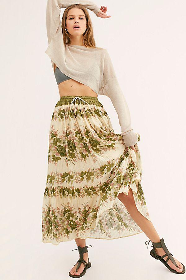 coco lei maxi skirt