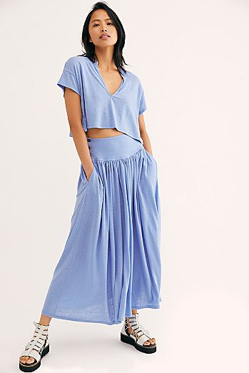 Crop Top and Skirt Sets & More | Free People