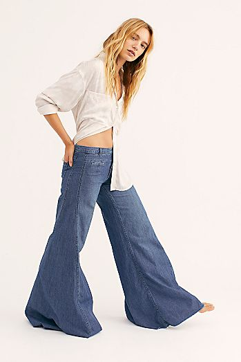 Extreme Vintage Flare Jeans