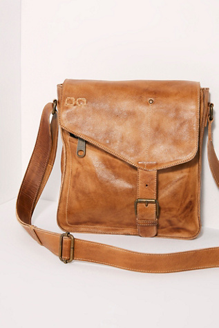 Venice Beach Distressed Messenger Bag by Free People