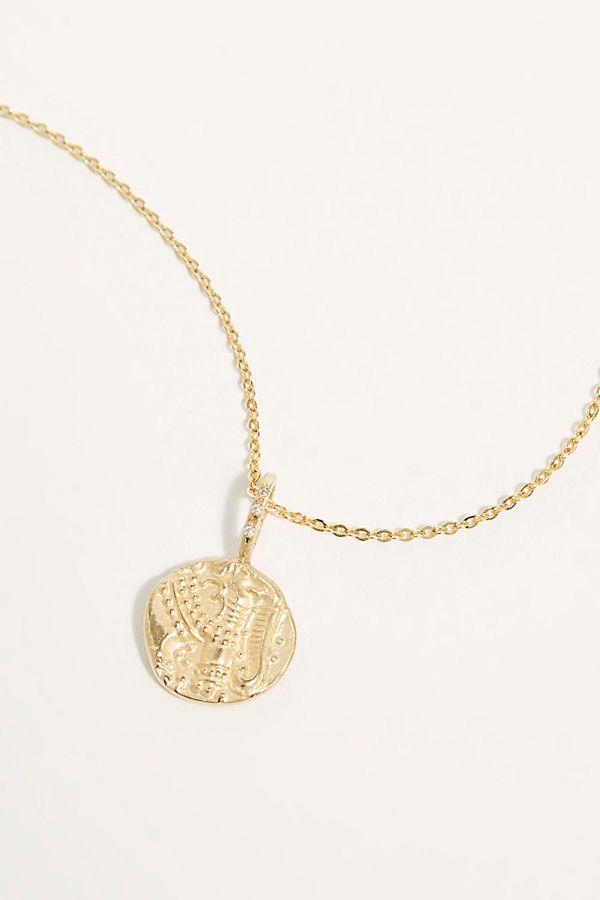 38cfe18f6c808 14k Gold Elephant Ganesh Pendant Necklace