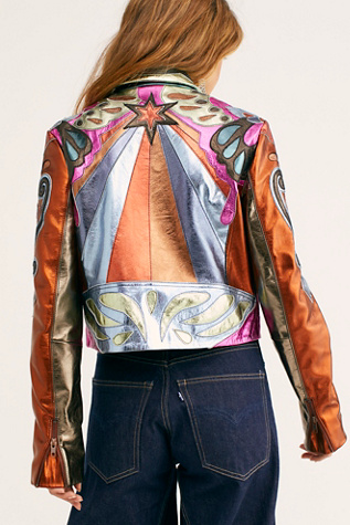 Stars Are Psychedelic Jacket | Free People