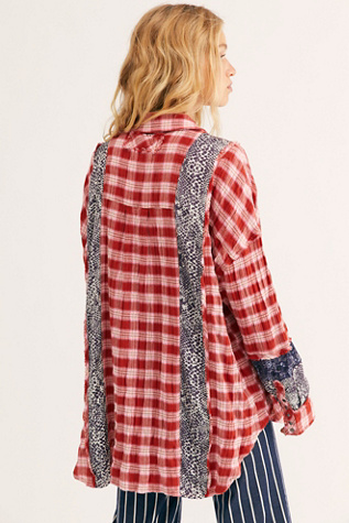 We The Free Fields Of Plaid Buttondown by We The Free