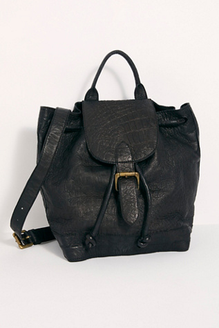 sofie-croc-embossed-backpack by fp-collection