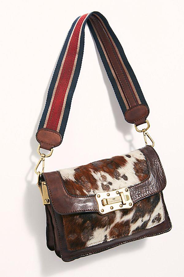 Angebot zur Freigabe auswählen ein paar Tage entfernt Campomaggi Cow Print Shoulder Bag