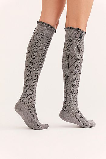 3fae7667fdb46 Knee High Socks & Over the Knee Socks   Tall Socks for Women   Free ...