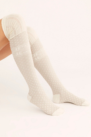 Snow Day Over The Knee Sock 3 Pack by Free People