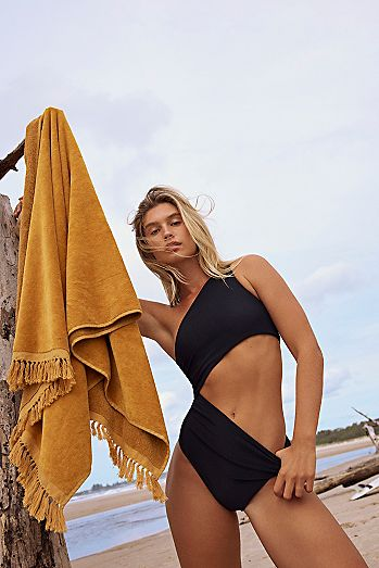 Ribbed Celine One Piece