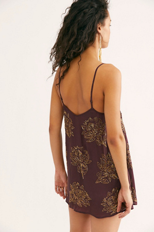 In Full Bloom Embellished Slip by Intimately