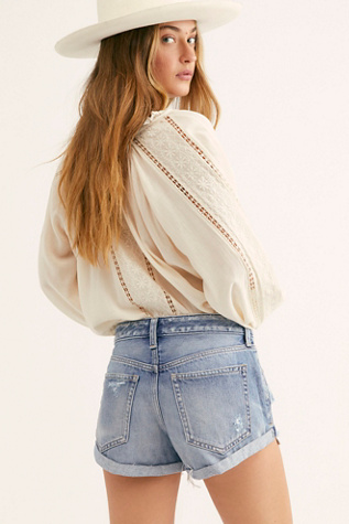Romeo Rolled Cut Off Shorts by Free People