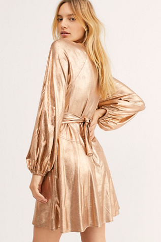 Good As Gold Mini Dress by Free People