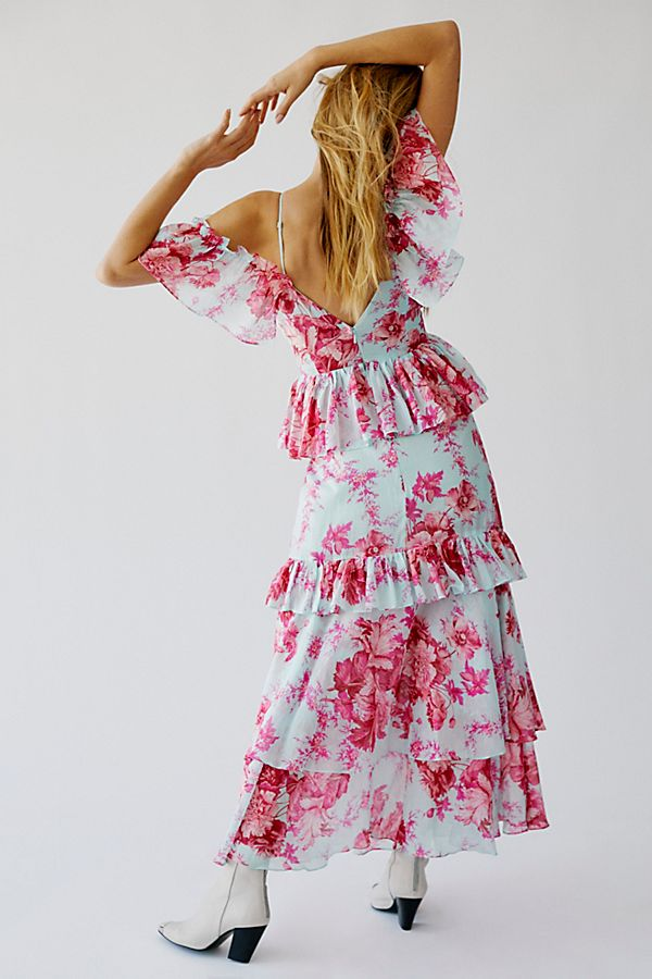 Alice Mccall Pink Flamingo Maxi Dress