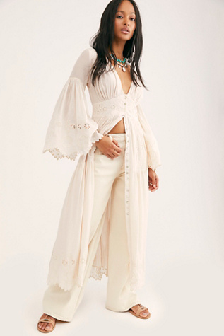 Imogen Embroidered Gown | Free People